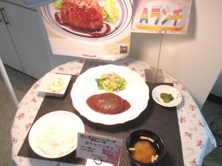 仙台 宮城県庁食堂 Aランチサンプル