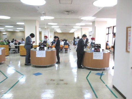 仙台 宮城県庁食堂 キャッシャー