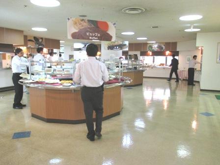 仙台 宮城県庁食堂 カフェテリア