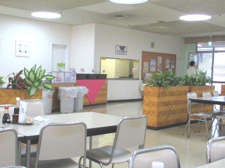 仙台 宮城県庁食堂 食器のセルフ返却