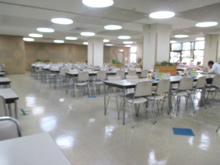 仙台 宮城県庁食堂 食堂内