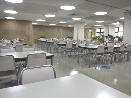 仙台 宮城県庁食堂 店内