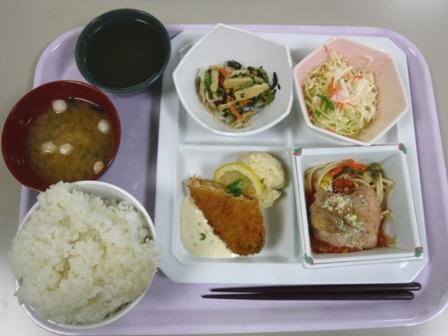 仙台 宮城県庁食堂 日替わり定食